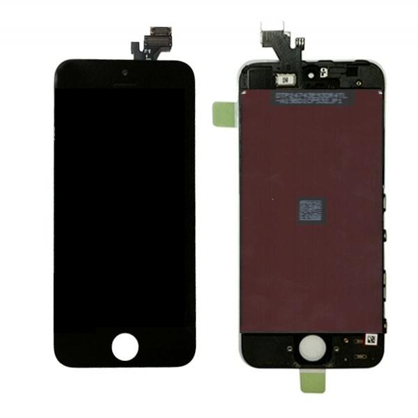 Дисплей (LCD) в сборе с сенсорным стеклом (тачскрин) iPhone 5 (Черный) SCA   Интернет-магазин запчастей для техники Apple
